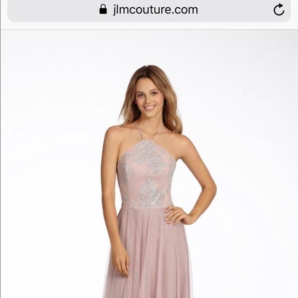 d6e81a8d93 Hayley Paige size 4 Bridesmaid dress